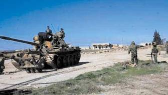 الجيش السوري انهى استعداداته لمعركة حلب ويتقدم في الارياف<br /> روسيا تحذر الاقتراب من سوخوي 35 وأوغلو : حدودنا ما زالت مفتوحة
