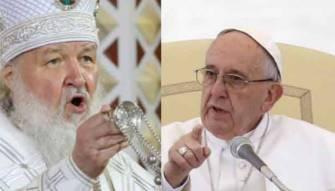 اللقاء الاول منذ العام 1054 ...<br /> بابا الكاثوليك يلتقي بطريرك الارثوذكس