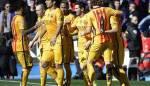 البطولات الأوروبية المحلية في كرة القدم :<br /> برشلونة وريال مدريد ينتزعان النقاط الثلاث بصعوبة