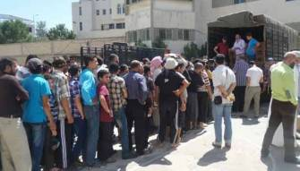 التكفيريون يتسترون وسط النازحين في وادي خالد