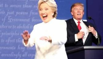ترامب  وكلينتون في المناظرة الاخيرة:<br /> تبادل للاتهامات العنيفة