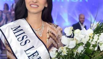 ساندي تابت ملكة جمال لبنان
