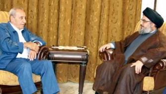 لقاء بين برّي ونصرالله حول مُستجدّات الرئاسة