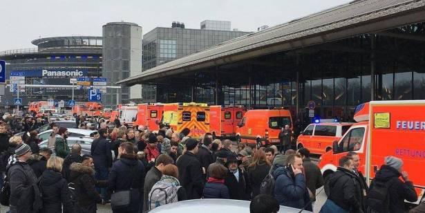 إصابة أكثر من 50 شخصا باختناق إثر تسرب مادة مجهولة بمطار هامبورج
