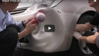 فيديو مذهل- معجون أسنان ومجفف شعر لإصلاح سيارتك بعد الحادث