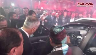 بالفيديو.. العرض الأول لسيارتين سوريتين جديدتين