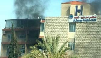 حريق في مستشفى «السان جورج»... واستئناف بقيّة الأقسام عملها