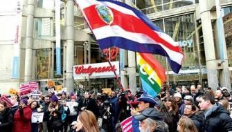 تظاهرات في «يوم الرؤساء» ضد ترامب