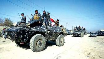 الجيش العراقي مدعوم بطائرات التحالف يتقدم نحو مطار الموصل والمواجهات عنيفة