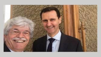رازي يشعل مواقع التواصل بسيلفي مع الأسد