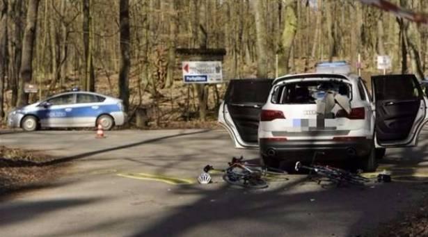 المانيا -  سيارة تقتحم سباق دراجات وتدهس أربعة