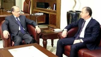 عون عين بوصعب مستشاراً للتعاون الدولي