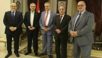 عشاء السفارة السورية بداية حوار لتوحيد القومي؟