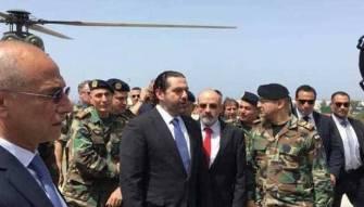 الحريري قال كلمته في الناقورة وتناول الغداء عند حليف حزب الله