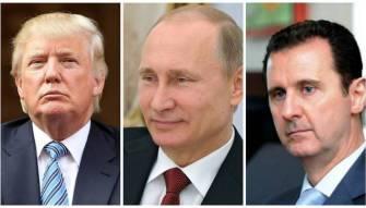 بوتين رفض رحيل الاسد لترامب