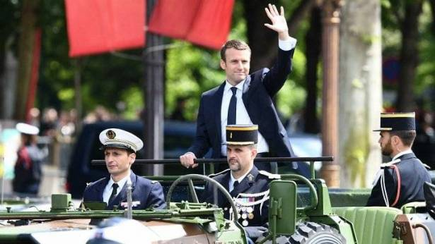 ماكرون يتفقد القوات الفرنسية في مالي اليوم