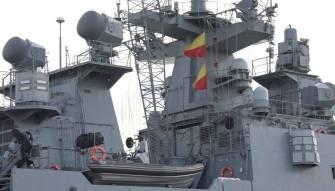 مناورات عسكرية روسية عند سواحل سوريا
