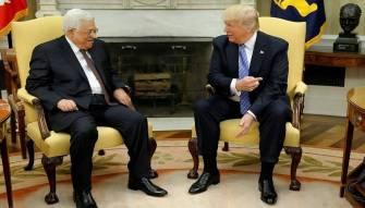 عباس يؤكد لترامب استعداده لبدء مفاوضات فورية مع إسرائيل