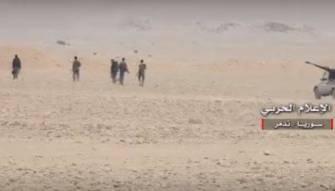 بالفيديو-  الجيش السوري يتقدم جنوبي تدمر