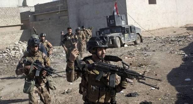 القوات العراقية تتقدم باتجاه مسجد 'خليفه داعش'