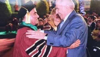 القنصل عقيقي نال دكتوراه فخريّة من جامعة «L.C.U»