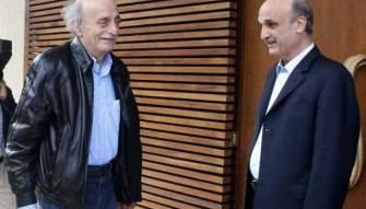 جعجع قام بمساع مع الحريري لمصالحته مع جنبلاط