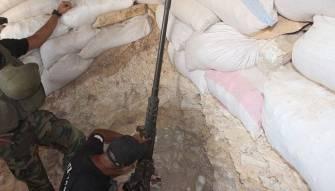 بالصور - الجيش يشتبك مع مسلحي داعش ويسيطر على مرتفعات عقاب خزعل