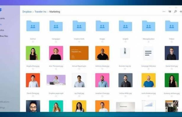 تحديث جديد لخدمة  دروب بوكس  على نظام ويندوز 10   الديار
