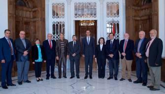 لقاء مع الرئيس بشار الأسد قبيل «الشوط الأخير» والأصعب