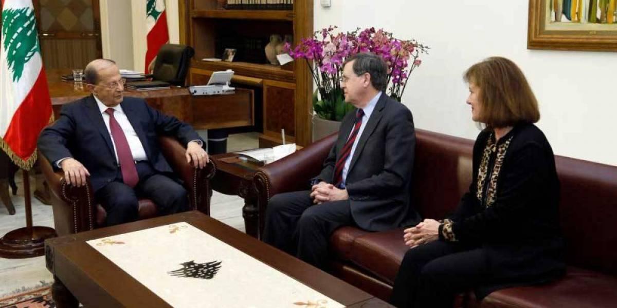 لبنان رفض المفاوضات المباشرة بطلب من ساترفيلد